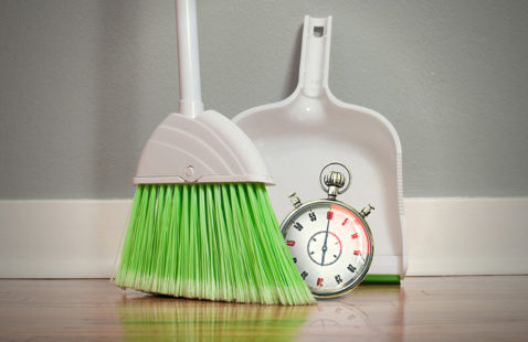 Speed Cleaning Your Home in 60 minutes