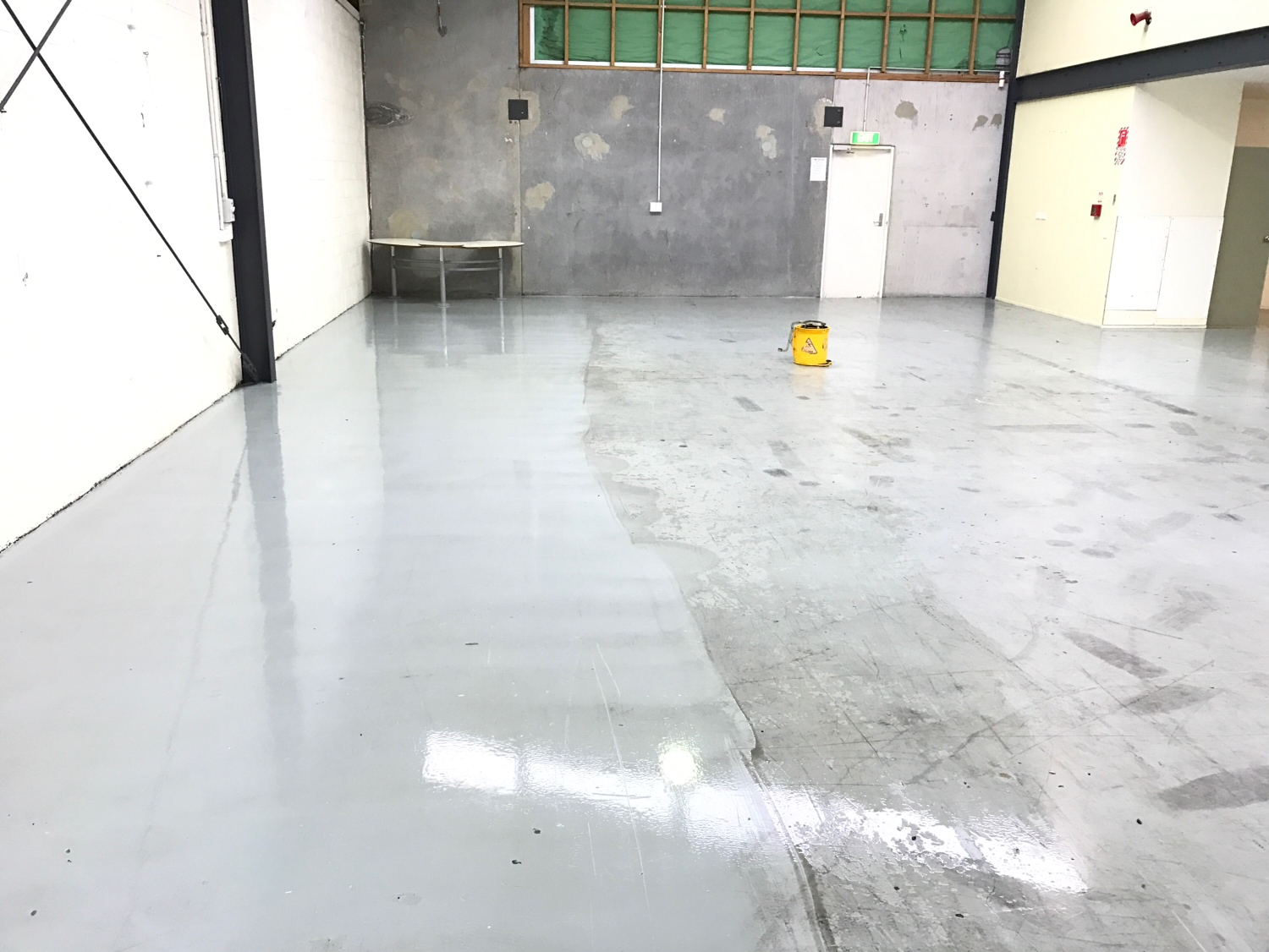 Hard Floor Cleaning - Before & After