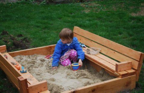 Keep Sandpit Sand Clean